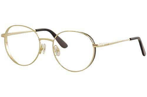 Guess Brille für Vista GU2700 032 gold rahmenmaterial: metall größe 52-mm-brillen-frau