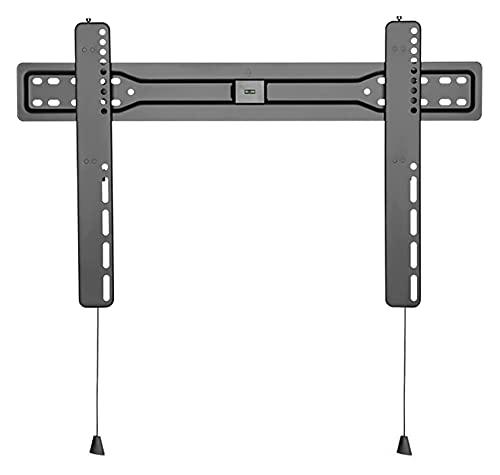 TabloKanvas Soporte de pared para TV de perfil bajo de 37 a 80 pulgadas, soporte de TV de pared fija extensible con cable magnético (color negro)