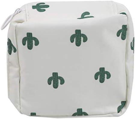 GloryMM Sanitary Napkin Storage Bag Flower Pattern Tampons Collect Organizer Zipper Nursing product image
