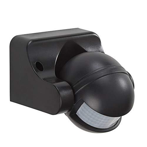 PowerMaster S5909 Sensor infrarrojo pasivo (PIR) Alámbrico Pared Negro Detector de Movimiento - Sensor de Movimiento (Sensor infrarrojo pasivo (PIR), Alámbrico, 12 m, Negro)
