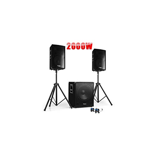 PACK Sono DJ IBIZA CUBE 1512 + PIEDS +...