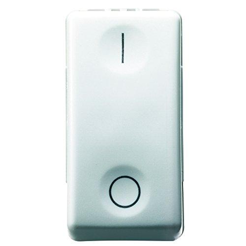 Gewiss GW20503 Interruttore Bipolare, Bianco, Taglia Unica