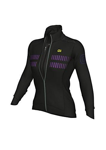 Ale Climat Protection 2.0 Future Combine Veste Racing, Femme, Violet (Noir/Violet), S
