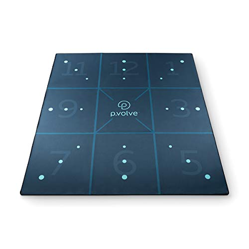 P.volve Precision Mat, Exercise Mat for at Home Workouts