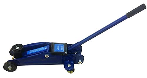 Euro Novità Srl EN-221015 Cric Sollevatore Martinetto Idraulico 2T 2000 kg 2 Tonnellate Cricco a Carrello per Auto