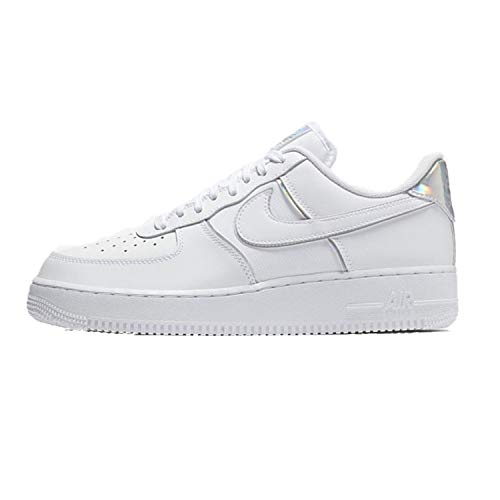Nike Men's Air Force 1 LV8 White/White/White Leather Casual Shoes 11.5 M US
