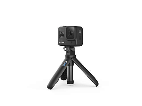 Gopro hero8 black holiday bundle - includes hero8 black camera plus shorty, head strap, 32gb sd card, and 2 rechargeable… 2 streamlined design: the reimagined shape is more pocketable, and folding fingers at the base let you swap mounts quickly. A new side door makes changing batteries even faster, and the lens is now 2x more impact resistant. Hypersmooth 2. 0: smooth just got smoother. Now hero8 black has three levels of stabilization—on, high and boost—so you can pick the best option for whatever you do. Get the widest views possible, or boost it up to the smoothest video ever offered in a hero camera. Plus, hypersmooth 2. 0 works with all resolutions and frame rates, and features in-app horizon leveling. Timewarp 2. 0: capture super stabilized time lapse videos while you move through an activity. And now, timewarp 2. 0 automatically adjusts speed based on motion, scene detection and lighting. You can even slow down the effect to real time—savoring interesting moments—and then tap to speed it back up.