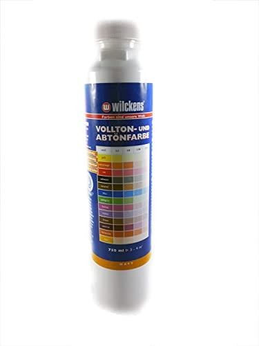 Wilckens Abtoenfarbe - Volltonfarbe / 750 ml/matt - 14 Farben zur Auswahl (Weiß)