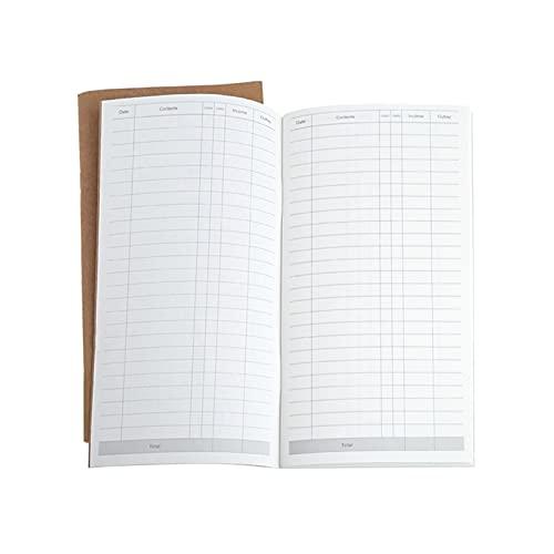 Computadora portátil Kraft Paper Cuaderno Cuaderno Book Dot Journal Diary Memo Página en blanco Papelería Conveniente y hermoso (Color : D)