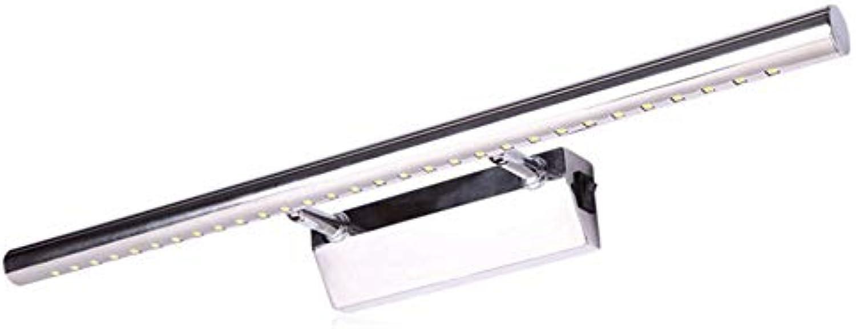 DRQ LED Spiegel Lichter Einfache Moderne Spiegel Scheinwerfer Bad Spiegel Schrank Schlafzimmer Makeup Wandleuchte Wasserdicht Anti-Fog,Weißlight-15.74in