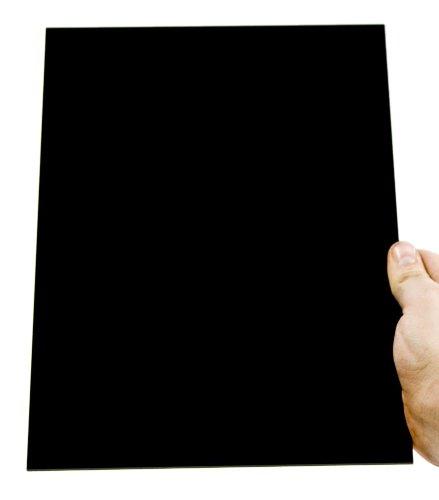 Acryl-Zuschnitt/Plexiglas-Platte schwarz, 3mm XT, 100 x 50 cm