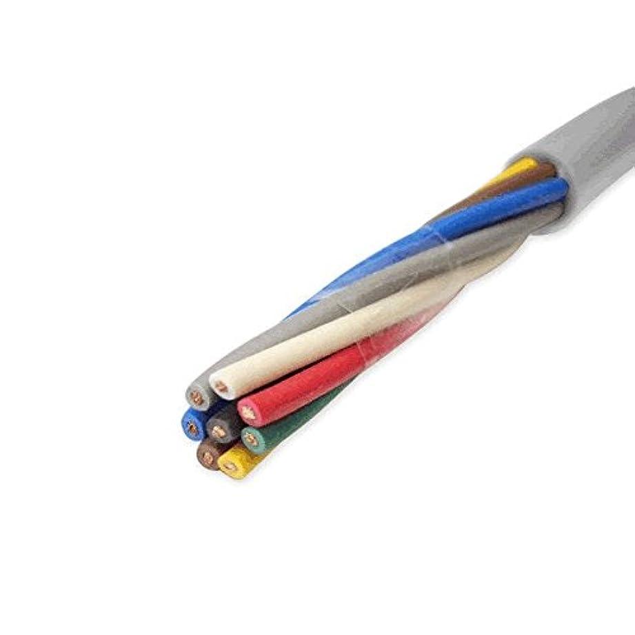 生命体回転する鉄富士電線工業 VCTF 0.3sq×8芯 ビニルキャブタイヤコード (丸型ケーブル) (0.3mm 8C 8心) (電線切売 1m~) TV