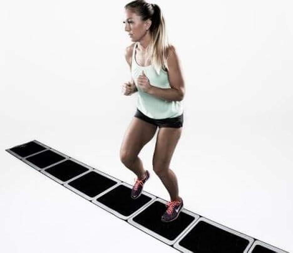 バング睡眠ビルH-TRAINING 全身運動 下半身運動 有酸素運動 クロスフィット バランス運動 ダイエットトレーニング 筋力アップ 肉体改造 ボディーストーン Roll Out Ladder(海外直送品)