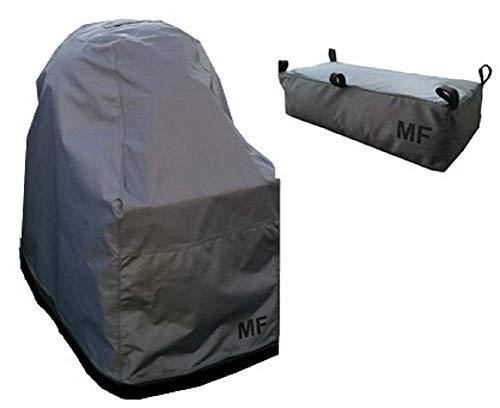MF smartdesign Premium Grill Abdeckhaube passend für Outdoorchef Ascona 570 G, inkl. Aufbewahrungstasche, BBQ Cover Schutzhuelle Haube Abdeckplane wasserdicht