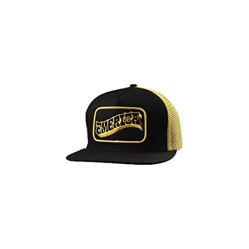 Emerica Still rollin trucker snapback cap Black One size