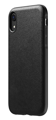 NOMAD Rugged Case for iPhone XR | Black Horween Leather