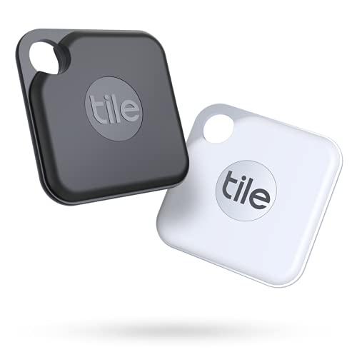 Tile Pro (2020) 2-pack - High Performance Bluetooth Tracker, Keys...