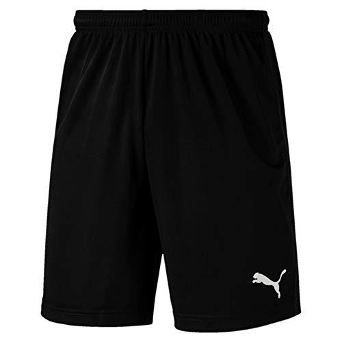 Puma Herren LIGA Training Shorts Core kurze Hose, schwarz(Puma Black / Puma White), L