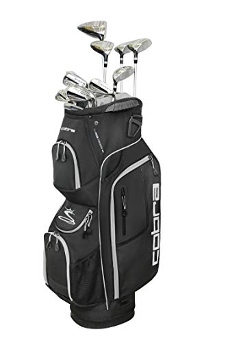 Cobra Golf 2019 XL Speed Complete Set (Men's, Black, Left Hand, Graphite, Senior Flex)