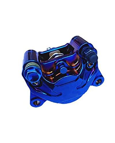 MDZZ Pinza de Freno Trasero de Motocicleta Bomba de Freno P2x34mm 84Mm Ajuste de Fit for Yamaha Kawasaki Suzuki Modify(Color:Blue)