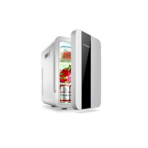 GONGFF Mini refrigerador montado en un vehículo Pequeño Dormitorio de Estudiantes Dormitorio Alquiler de automóvil Hogar Refrigerador portátil de Doble Uso Mini (Color: Pantalla Digital)