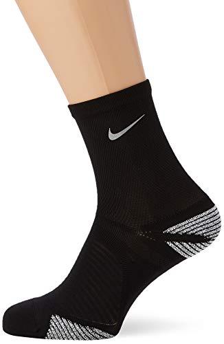 NIKE U Racing Ankle Calcetines, Unisex Adulto, Black/Reflective, 44.5