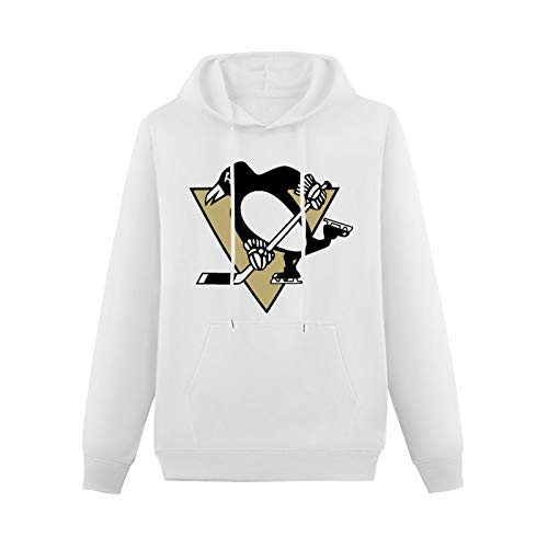Lihua Qwert Youth Teen Classic Hoody Pittsburgh Penguins Ice Hockey Team with Heavyweight Hooded