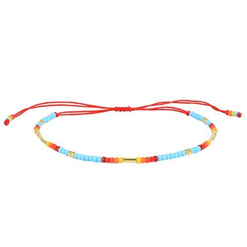C·QUAN CHI Boho Bracelet pour les femmes 2021 été Miyuki perles bracelets arc-en-ciel bijoux bohème amitié Bracelets