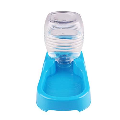 ibasenice - Comedero automático para animales (500 ml, plástico), color azul