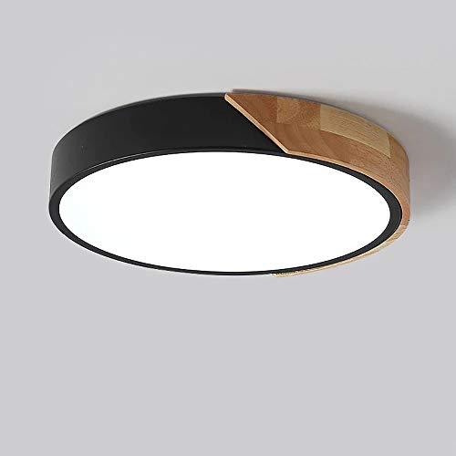 LED Deckenleuchte Rund 18W 6000K Ø30 * 5CM LED Deckenlampe Rund Modern Büro Lampe Schlafzimmer Leuchte, für Wohnzimmer Balkon Flur Küche Babyzimmer Schlafzimmer Kinderzimmer