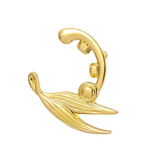 Broche Anime Violeta Evergarden Acessório de fantasia de cosplay dourado para homens e mulheres Fashion Jewelry Lapel Pin-Xz1023