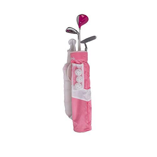 Tour X 3 Piece Tube Pink 5 and Under Golf Set SZ 0
