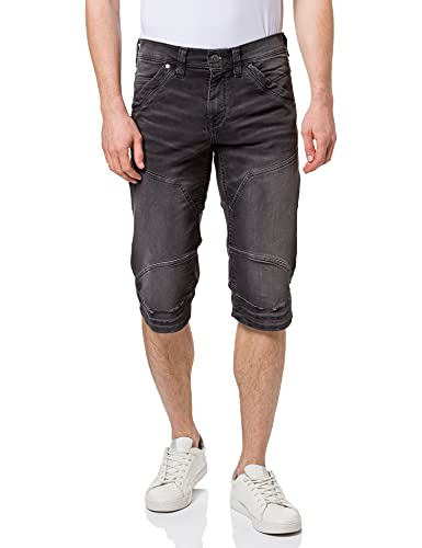 MUSTANG Herren Fremont Shorts, dunkelgrau, 28W
