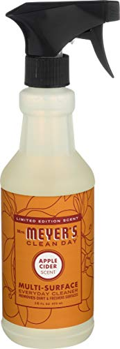 Mrs. Meyers Clean Day Multi-Surface Everyday Cleaner, Apple Cider, 16 Fluid Ounce
