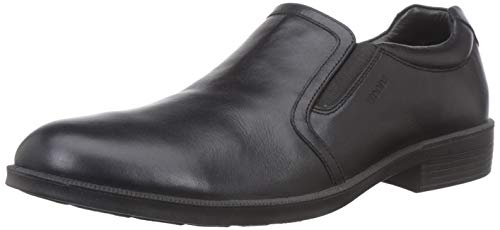 Woodland Men's BLACKLeather Casual Shoes-8 UK/India (42 EU) -(GW 2765118)