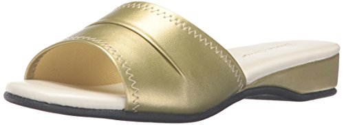 Daniel Green womens Dormie Slipper clogs and mules shoes, Gold, 9.5 US