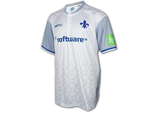 Craft Darmstadt 98 Auswärts Trikot 19/20 SV98 Away Shirt Darmstadt Fan Jersey, Größe:3XL