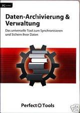 Daten-Archivierung & Verwaltung