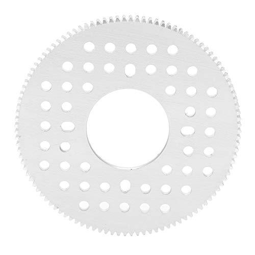 DAUERHAFT Herramientas de Hardware Engranaje de Dientes Recto de Aluminio 0,8 32 mm Agujero Central 108 Dientes
