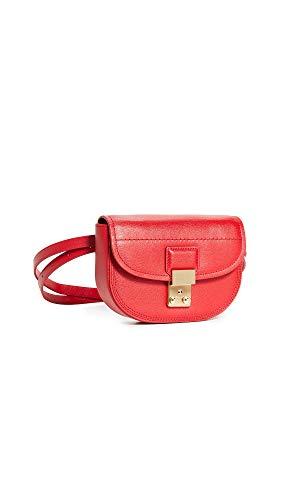 3.1 Phillip Lim Saddle Bag, RED