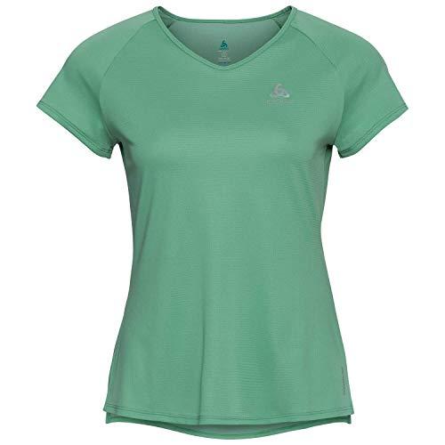 Odlo Zeroweight Crew Neck T-Shirt Femme, Crème de Menthe, s