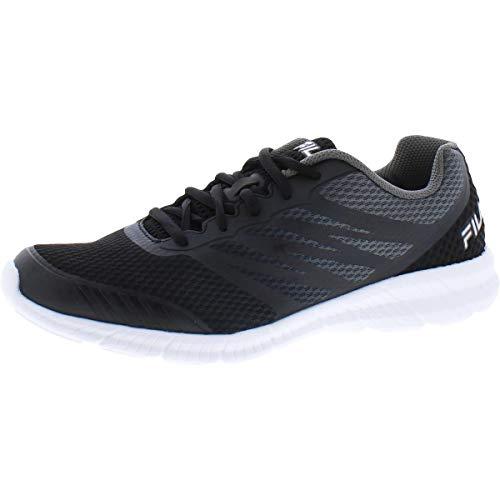 Fila Memory Fantom 3 Men's Running 10.5 D(M) US Black-Grey-White