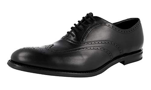 Church's Herren Schwarz Budapester Leder Business Schuhe EEC167 9WF F0AAB 43.5 / UK 9.5
