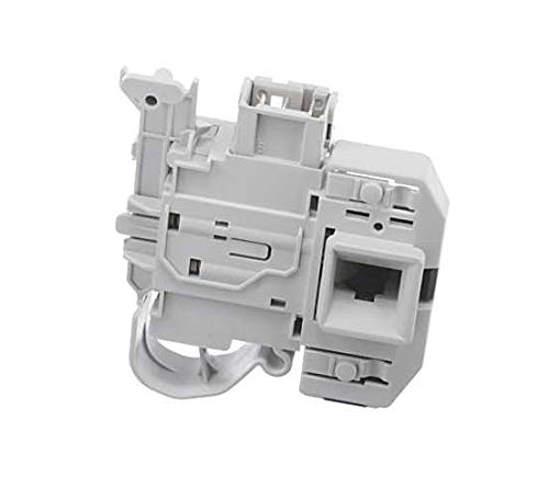SpareHome Cierre eléctrico, blocapuertas para lavadoras Bosch, Siemens, Constructa, Pitsos, Neff y Gaggenau
