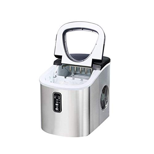 YEXIN Eismaschine mit Eisportionierer, in 6 Minuten, ideal for Küchen, Heckklappen, Bars, Partys, große Würfel (242 mm * 358 mm * 328 mm)