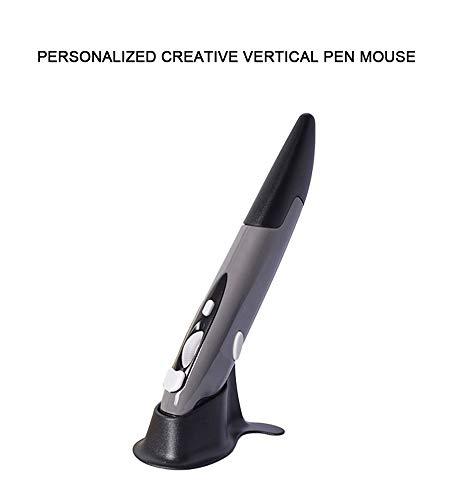 WYSSS Faule Maus/kabellose Maus/Tragbare Maus/2.4G Drahtloser Mausstift/Personalisierte Kreative Vertikale Stiftmaus/Computer-Stiftmaus/3-Gang-CPI-Einstellung/Unterstützt Multisystemkompatibi