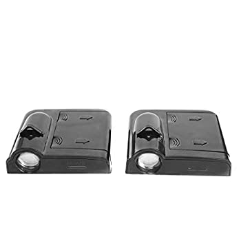 Wireless Car Led Door Logo Light Ground Courtesy Door Light Projector Compatible with Honda All Model - Accord CRV CRZ Civic Clarity Element Odyssey etc - 2Pcs Truck Shadow Ghost Lights Welcome Light