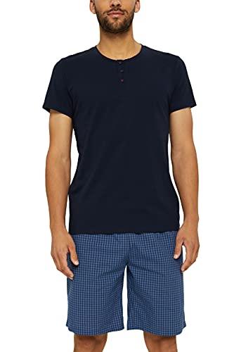 ESPRIT Bodywear Herren DYRAH NW COOcombi Pyjama Pyjamaset, 403, XXL