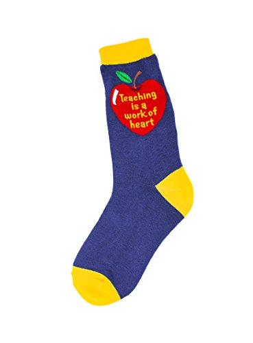 Foot Traffic, Profession Women's Socks, Teaching Heart