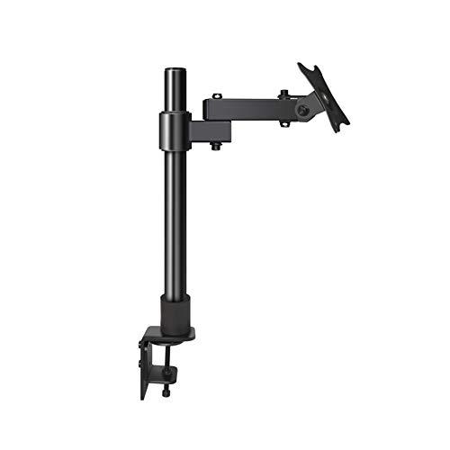 JDYDDSK Soporte de Escritorio para un Solo Monitor LCD LED -Montaje de Escritorio con Brazos Totalmente Ajustables para Pantallas de Ordenador de 14' a 27' con Vesa 75 100,A02